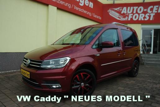 VW Caddy Generation Four