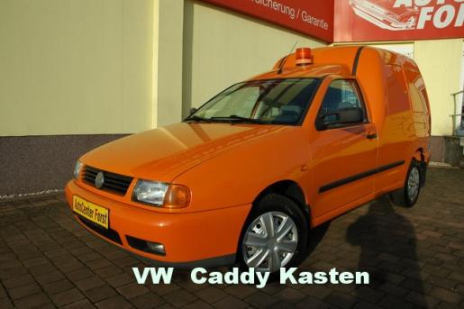 Volkswagen Caddy SDI Kasten super Zustand