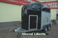 Cheval Liberte Gold II mit Sattelkammer und Pullmannfahrwerk