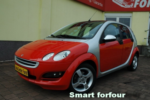 Smart forfour Passion 1.Hand 59.000km